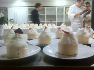 Mise en place des dessert