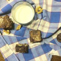 Brownies noix et beurre demi-sel
