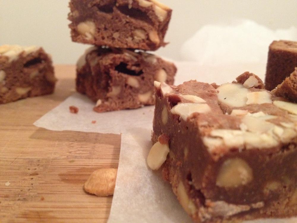 Brownies au chocolat et fleur de sel