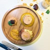 Foie gras mi-cuit au piment d'espelette