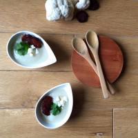 Velouté de chou-fleur et chorizo