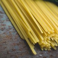 La saucisse de Toulouse et spaghettis au thym