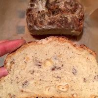 Le pain aux noisettes et miel de chataignier