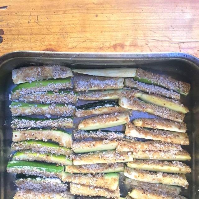 Les frites de courgettes – Copyright © Le Revers de La Manche