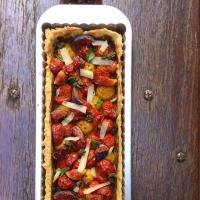 La tarte figues-tomates-basilic