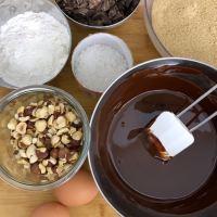 Brownie inratable au chocolat et noisettes
